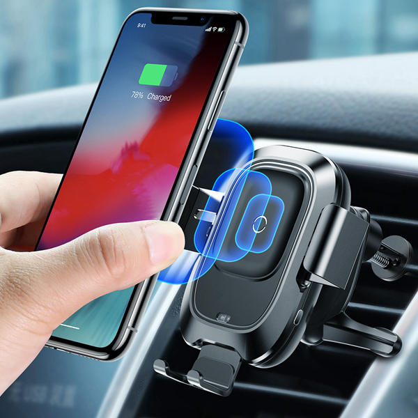 How can a wireless car charger save your time?